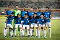 India U-23 national team at the SAFF Suzuki Cup 2018 Final. (Photo courtesy: AIFF Media)
