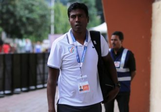 Indian national team assistant coach Shanmugam Venkatesh (Photo courtesy: AIFF Media)