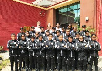 India U-16 Women's national team (Photo courtesy: AIFF Media)