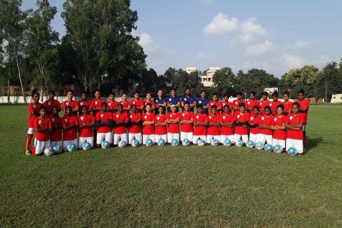 India U-18 Women's national team (Photo courtesy: AIFF Media)