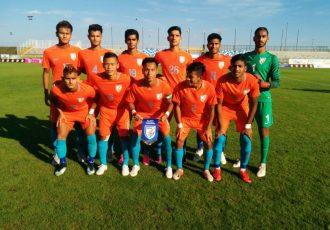 India U-19 national team (Photo courtesy: AIFF Media)