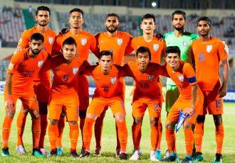 India U-23 national team at the SAFF Suzuki Cup 2018. (Photo courtesy: AIFF Media)