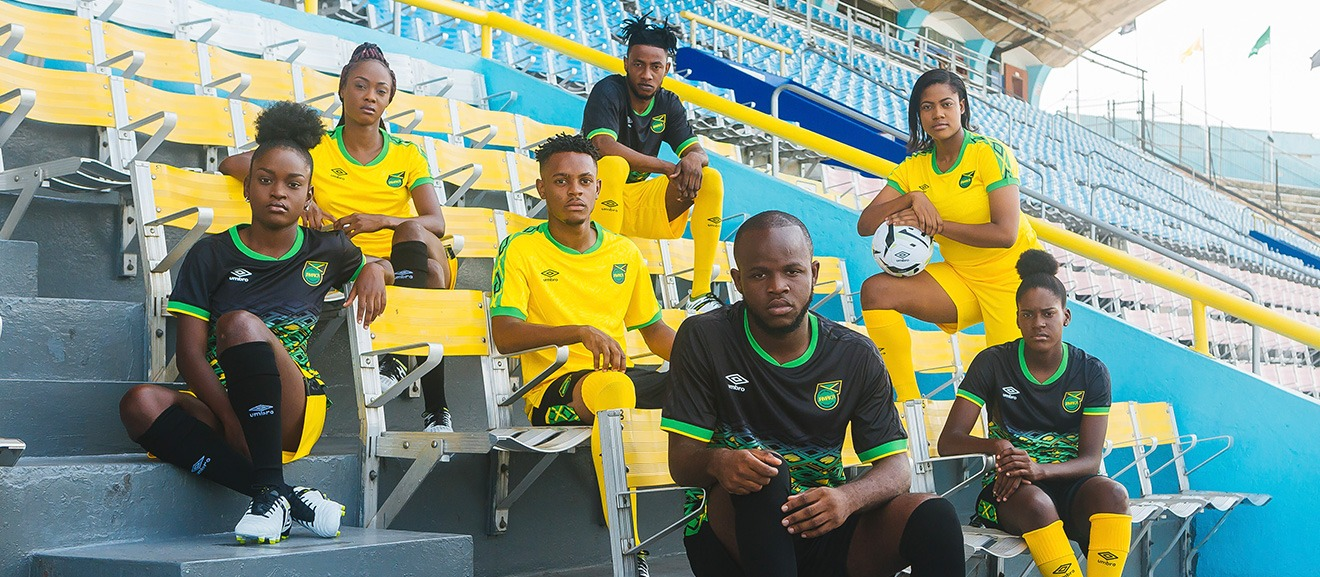 We Are The One New Jamaica Home And Away Kits Revealed By Umbro