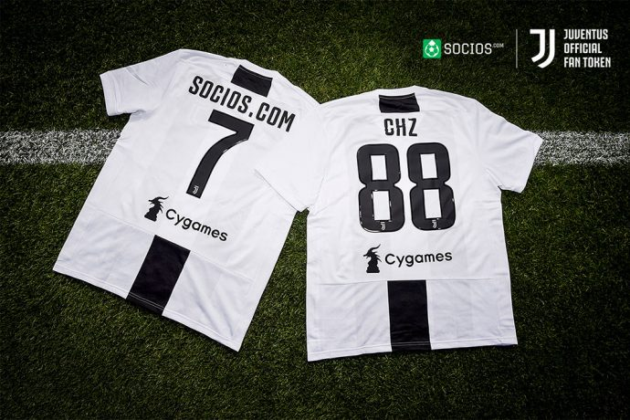 Juventus to launch Fan Token with blockchain platform Socios.com. (Photo courtesy: PRNewsfoto/Juventus FC)