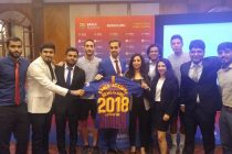 FC Barcelona's 'Barca Academy' lands in Namma Bengaluru. (Photo courtesy: Barca Academy)