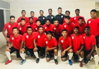 The India U-15 national team squad. (Photo courtesy: AIFF Media)