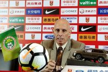 Indian national team head coach Stephen Constantine at the post-match press conference. (Photo courtesy: AIFF Media)