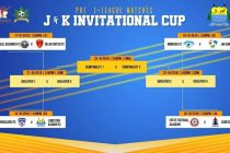 J&K Invitational Cup to kick-off in Srinagar on October 17