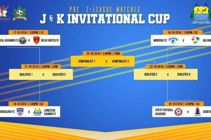 J&K Invitational Cup to kick-off in Srinagar on October 17