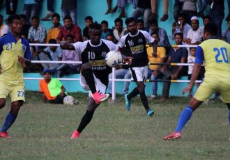 2018 Bordoloi Trophy Group B match action between Mohammedan Sporting Club and Assam Police Blues. (Photo courtesy: Mohammedan Sporting Club)