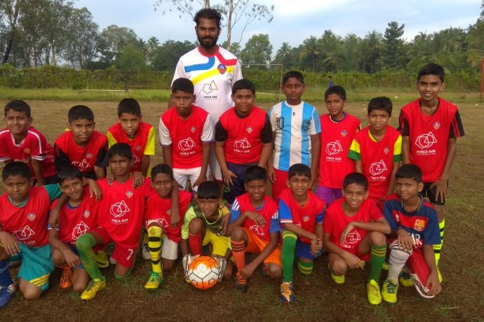 Young Gaurs at the Forca Goa Foundation Inter-Center League. (Photo courtesy: FC Goa)