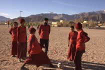 AIFF takes football to new heights with Grassroots Programme in Leh Ladakh. (Photo courtesy: AIFF Media)