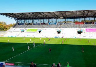 Allianz Frauen-Bundesliga encounter between SGS Essen and 1. FFC Turbine Potsdam at the Stadion Essen. (© CPD Football)
