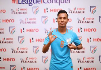 Indian junior national team and Indian Arrows captain Amarjit Singh. (Photo courtesy: AIFF Media)