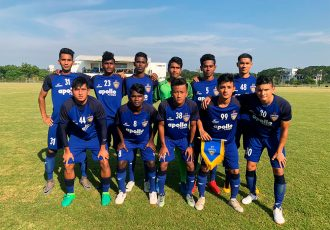 Chennaiyin FC U-18 team ahead of their AIFF U-18 Youth League match. (Photo courtesy: Chennaiyin FC)