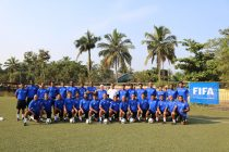 Participants of the FIFA Youth Coaching Course in Goa. (Photo courtesy: AIFF Media)