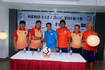 Hero I-League pre-match press conference ahead of the NEROCA FC vs East Bengal FC encounter. (Photo courtesy: AIFF Media)