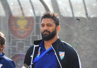 India U-18 Women's national team head coach Alex Ambrose. (Photo courtesy: AIFF Media)