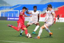 Hero I-League match action between Aizawl FC and Chennai City FC. (Photo courtesy: AIFF Media)