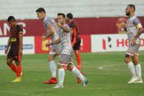 Hero I-League match action between Gokulam Kerala FC and Chennai City FC. (Photo courtesy: AIFF Media)