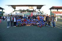 The victorious Chhinga Veng FC U-18 squad. (Photo courtesy: Mizoram Football Association)