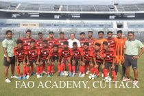 The FAO Academy U-18 team for the U-18 Youth League. (Photo courtesy: Football Association of Odisha)