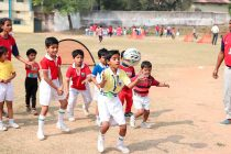 Jamshedpur FC Grassroots Football Festival at JUSCO School South Park. (Photo courtesy: Jamshedpur FC)
