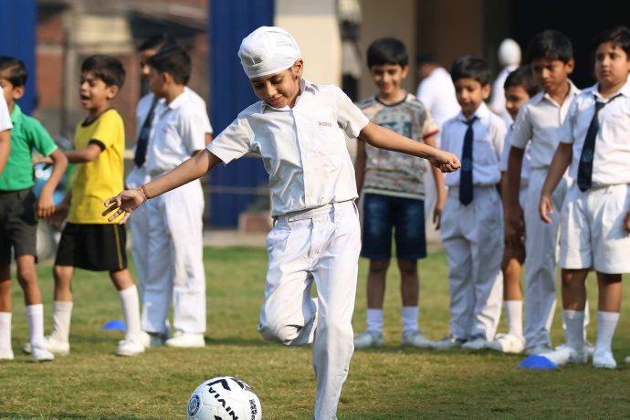 Jamshedpur FC inaugurate Football School in collaboration with Kerala Samajam Model School. (Photo courtesy: Jamshedpur FC)