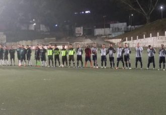 The MFA Veteran Football League 2018/19 at the AR Lammual Stadium in Aizawl. (Photo courtesy: Mizoram Football Association)