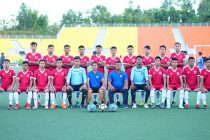 The Mizoram Junior Boys Football Team is all set for the National Junior Football Championship for the B.C. Roy Trophy. (Photo courtesy: Mizoram Football Association)