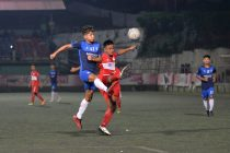 Mizoram Premier League (MPL) match action between Mizoram Police FC and Electric Veng FC. (Photo courtesy: Mizoram Football Association)