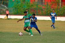Goa Pro League match action between Salgaocar FC and Calangute Association. (Photo courtesy: Goa Football Association)