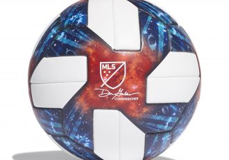 The official match ball of the Major League Soccer (MLS): adidas NATIVO QUESTRA. (Photo courtesy: adidas)