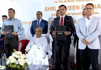 AIFF and Government of Odisha sign MoU for football development. (Photo courtesy: AIFF Media)