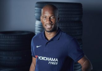 Chelsea FC legend and Yokohama brand ambassador Didier Drogba. (Photo courtesy: Yokohama)