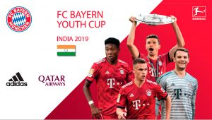 FC Bayern Youth Cup India 2019 is set to take place at adidas, the Base – Plaza in New Delhi, India. (Image courtesy: Qatar Airways)