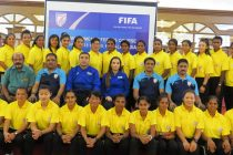 Participants of the FIFA MA Women Referees in Kochi, India. (Photo courtesy: AIFF Media)