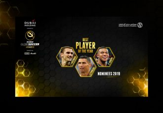 The Globe Soccer Awards nominees in the Best Player Award category. (Image courtesy: Globe Soccer Awards)
