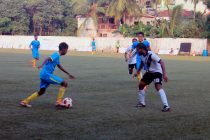 Goa Pro League match action between Bardez FC and Vasco SC. (Photo courtesy: Vidhant Kadam / Goa Football Association)