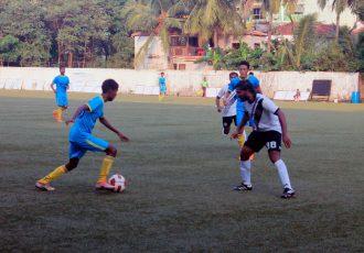 Goa Pro League match action between Bardez FC and Vasco SC. (Photo courtesy: Vidhant Kadam / Goa Football Association)