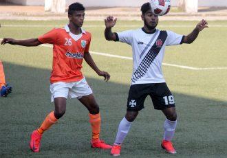 Goa Pro League match action between Sporting Clube de Goa and Vasco SC. (Photo courtesy: Goa Football Association)
