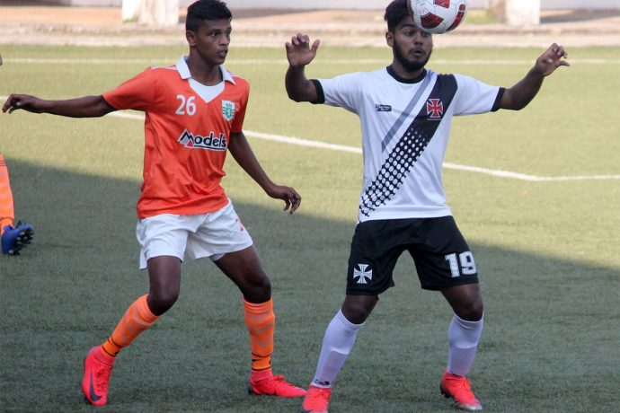 Goa Pro League match action between Sporting Clube de Goa and Vasco SC. (Photo courtesy: Goa Football Association)