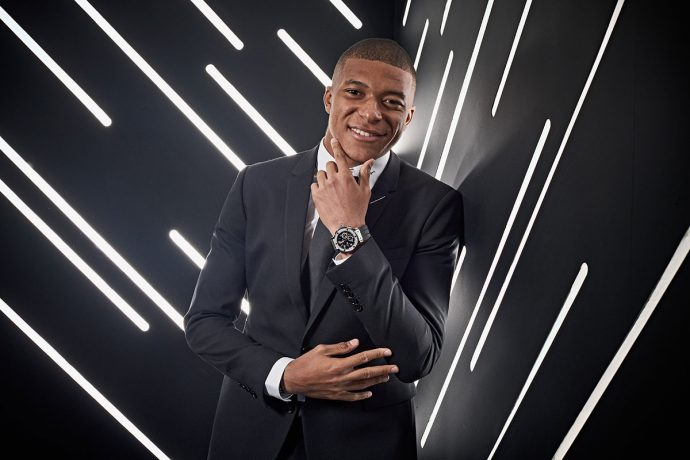 France superstar Kylian Mbappé joins the Hublot family. (Photo courtesy: Hublot)