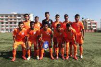 The India U-15 national team at the SAFF U-15 Championship 2018. (Photo courtesy: AIFF Media)