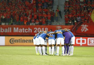 The Indian national team. (Photo courtesy: AIFF Media)