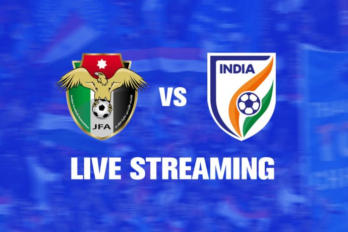 Live Streaming - Friendly Match: Jordan vs India