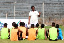 Mohammedan Sporting Club training session. (Photo courtesy: Mohammedan Sporting Club)