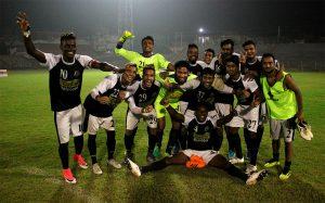 Mohammedan Sporting Club celebrating their Bordloi Trophy 2018 semifinall victory. (Photo courtesy: Mohammedan Sporting Club)