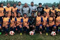 Panjim Footballers squad for the GFA Vedanta Women's League. (Photo courtesy: Goa Football Association)