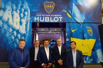 Rick De La Croix, Rodolfo Ferrari, Daniel Angelici, Ricardo Guadalupe and Christian Gribaudo. (Photo courtesy: Hublot)